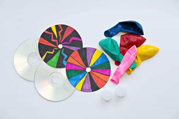 CD Balloon Hovercraft