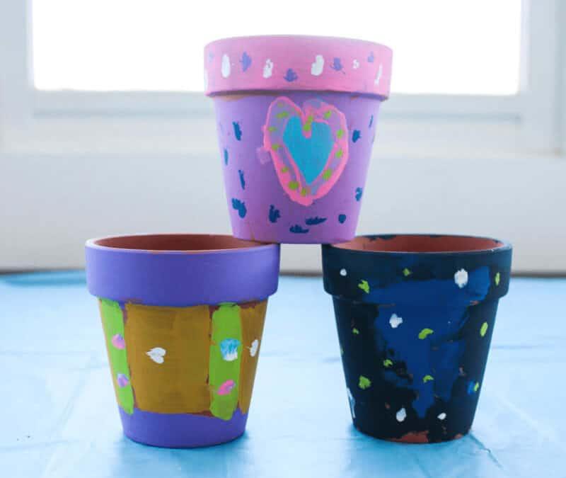 Porcelain Flower Pots